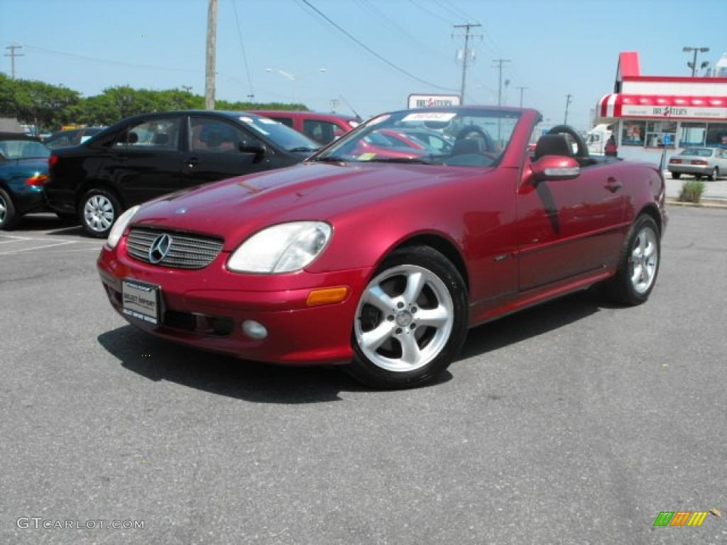 2001 firemist metallic mercedes benz slk 320 roadster 30616013 car color galleries. Black Bedroom Furniture Sets. Home Design Ideas
