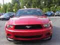 2011 Red Candy Metallic Ford Mustang V6 Coupe  photo #5