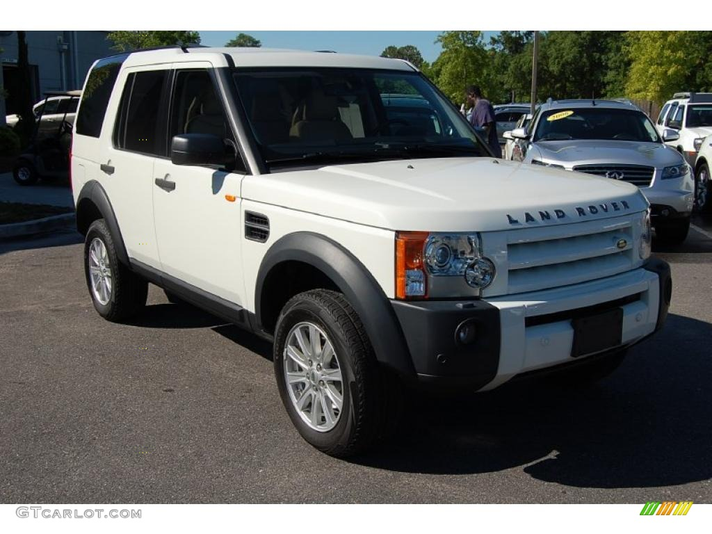 2007 chawton white land rover lr3 v8 se 30616792. Black Bedroom Furniture Sets. Home Design Ideas