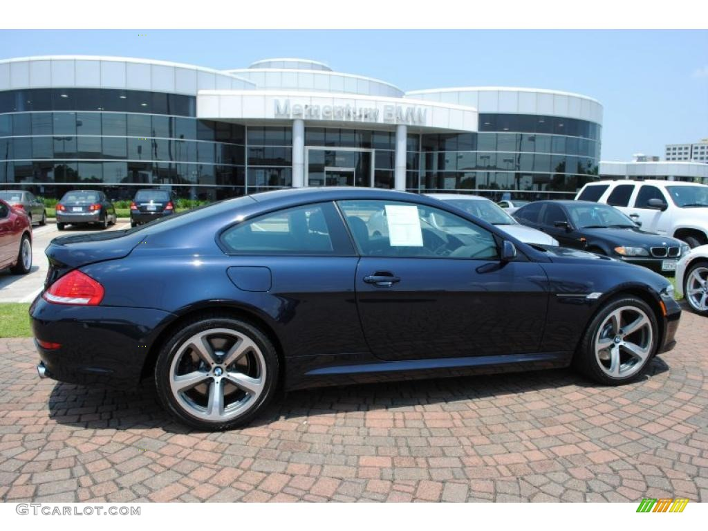 2008 Deep Sea Blue Metallic BMW 6 Series 650i Coupe #30616858 ...