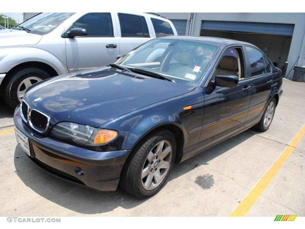 2004 orient blue metallic bmw 3 series 325i sedan. Black Bedroom Furniture Sets. Home Design Ideas