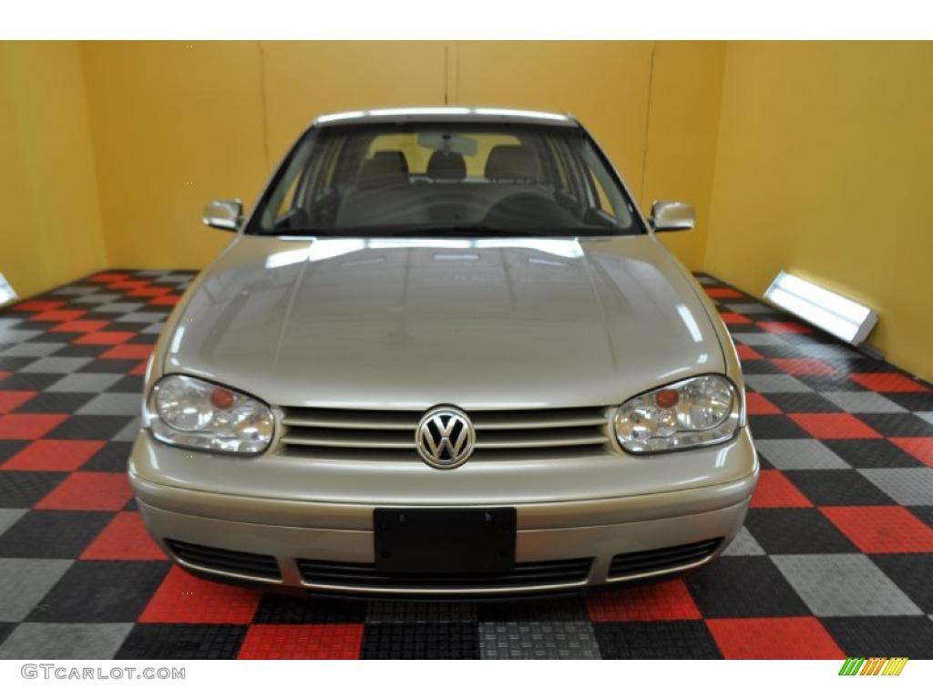 2004 mojave beige metallic volkswagen golf gl tdi 4 door 30616866 photo 2 car. Black Bedroom Furniture Sets. Home Design Ideas