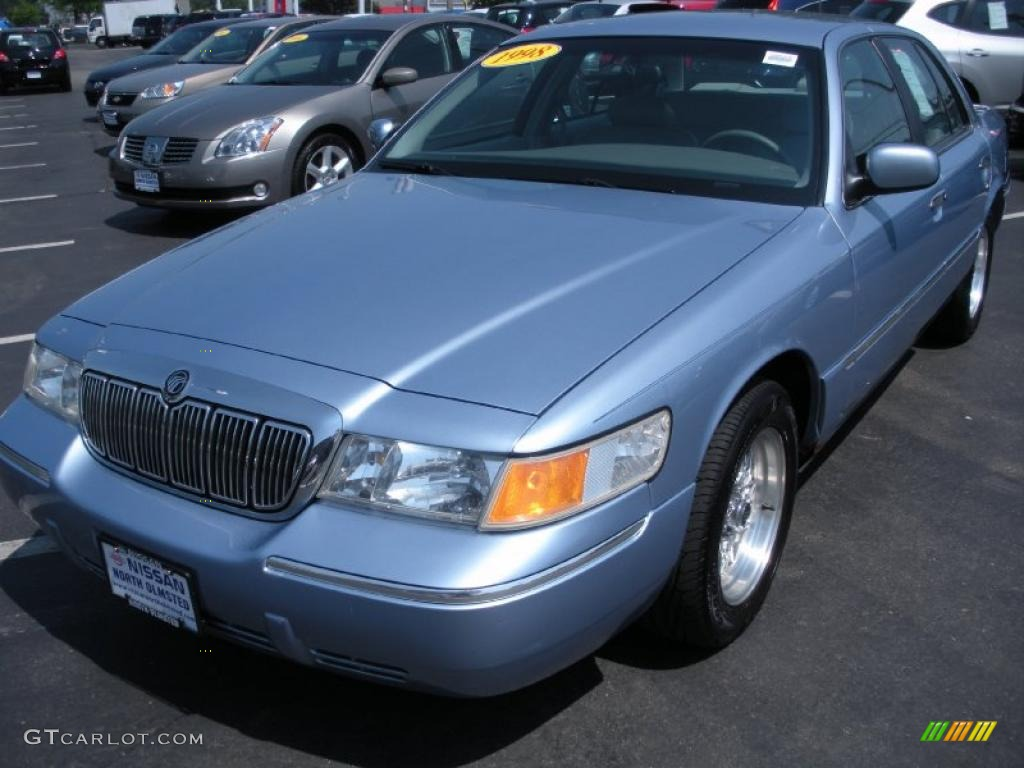 ... 1998 light blue metallic mercury grand marquis ls 30722740 1998 mercury  grand marquis ls light blue