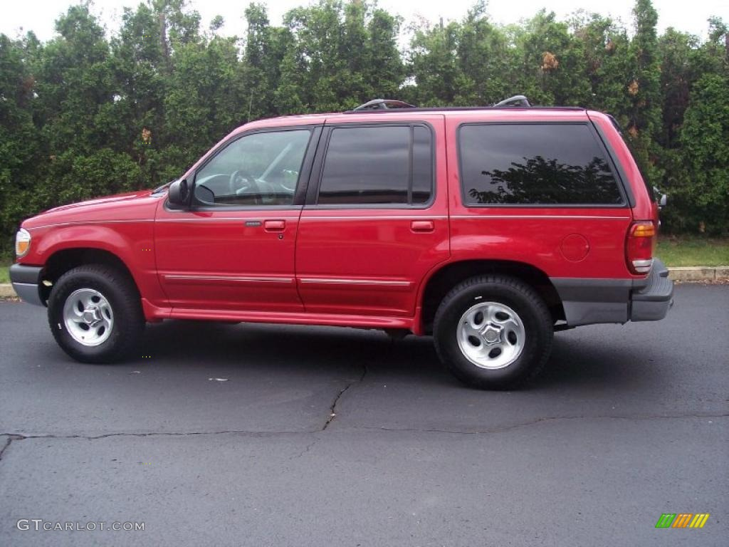 1999 Bright Red Clearcoat Ford Explorer Xlt 4x4 30722745