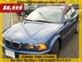Topaz Blue Metallic 2000 BMW 3 Series 323i Coupe