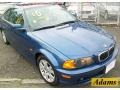 Topaz Blue Metallic - 3 Series 323i Coupe Photo No. 2