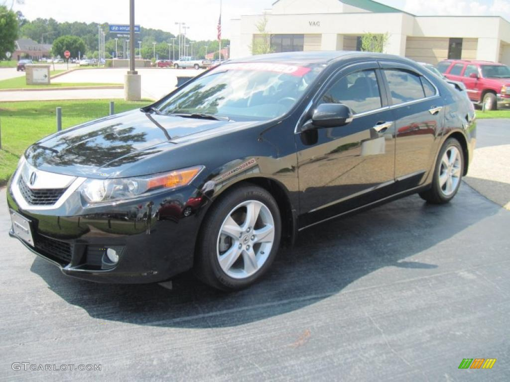 Crystal Black Pearl Acura TSX
