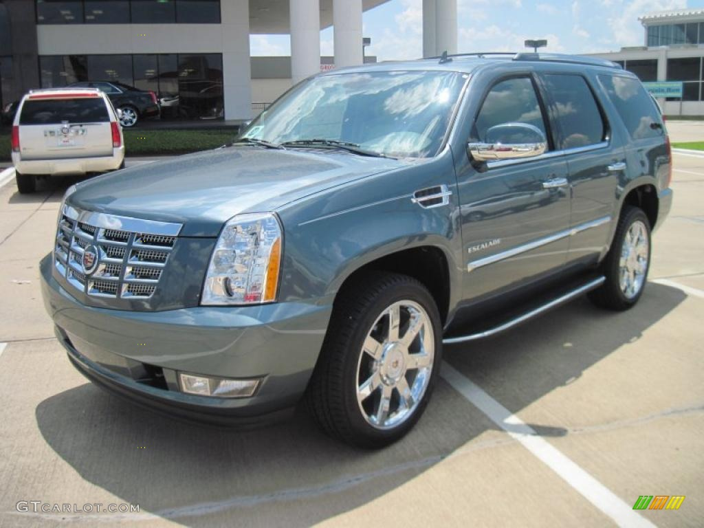 2010 escalade luxury stealth gray cashmere cocoa photo 1