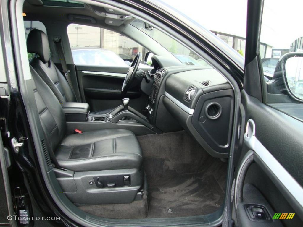 2005 porsche cayenne interior. Black Bedroom Furniture Sets. Home Design Ideas