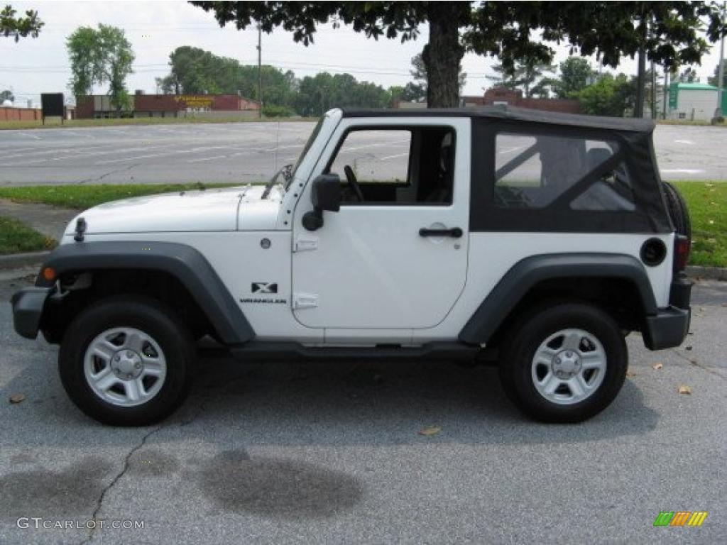 2007 stone white jeep wrangler x 4x4 #30769755 | gtcarlot