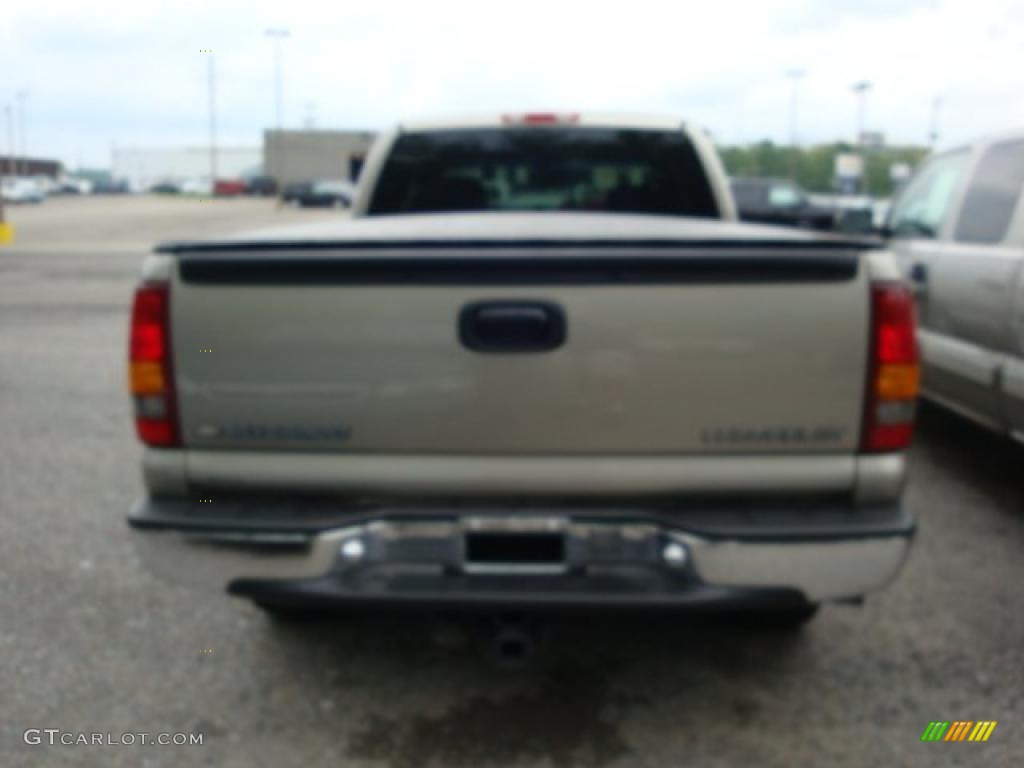 2002 Silverado 1500 LS Extended Cab 4x4 - Light Pewter Metallic / Graphite Gray photo #3