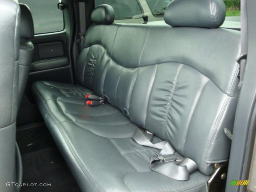 2002 Silverado 1500 LS Extended Cab 4x4 - Light Pewter Metallic / Graphite Gray photo #9
