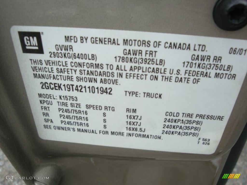 2002 Silverado 1500 LS Extended Cab 4x4 - Light Pewter Metallic / Graphite Gray photo #14