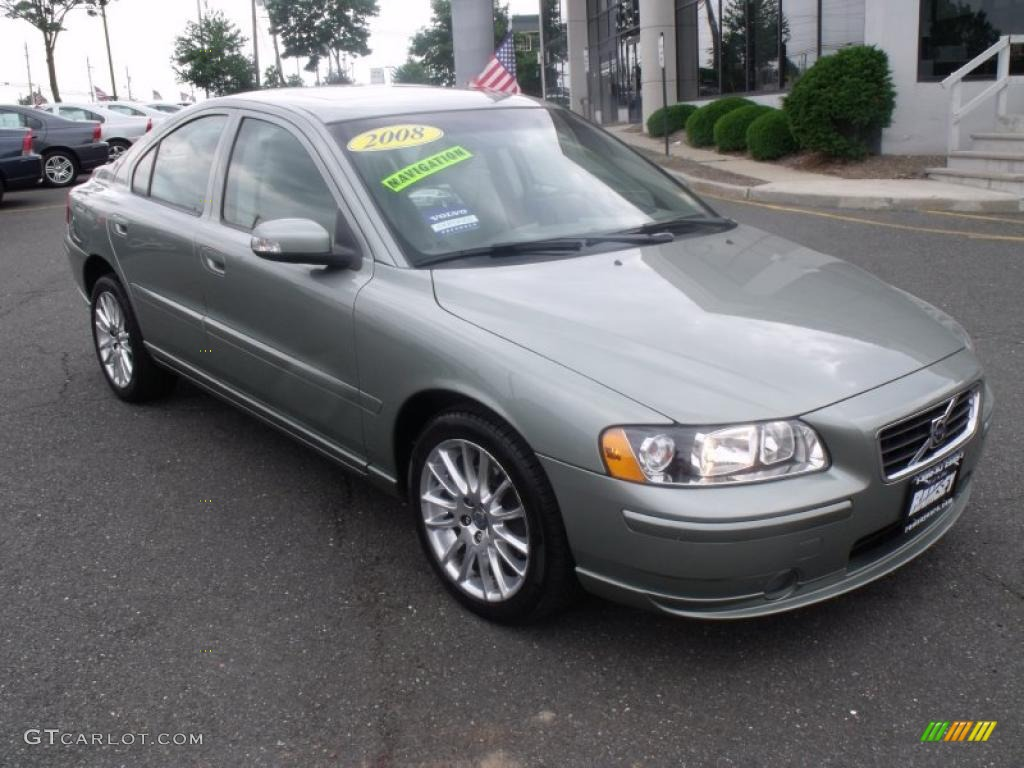 2008 willow green metallic volvo s60 2 5t awd 30770305. Black Bedroom Furniture Sets. Home Design Ideas