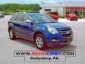 2010 Navy Blue Metallic Chevrolet Equinox LTZ AWD  photo #1