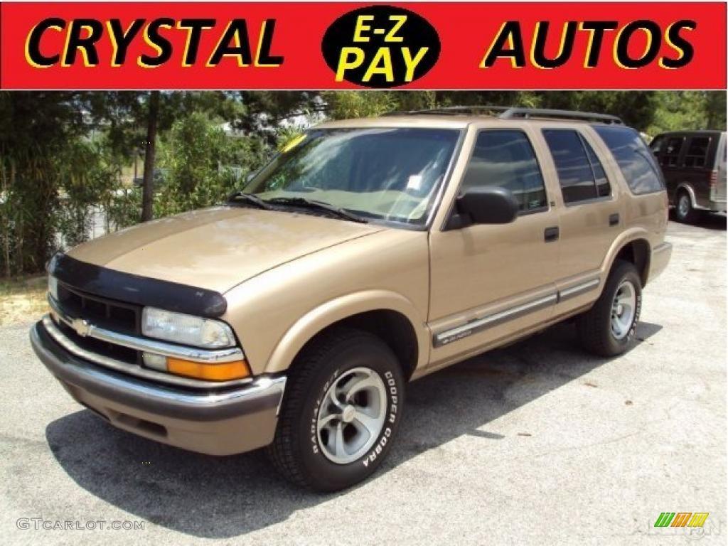 2000 Sunset Gold Metallic Chevrolet Blazer LS #30770324   GTCarLot ...