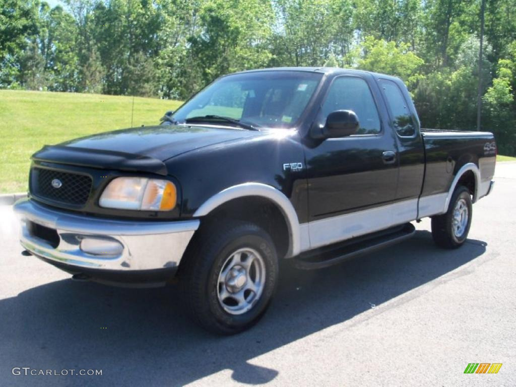 1997 black ford f150 xlt extended cab 4x4 30769824 car color galleries. Black Bedroom Furniture Sets. Home Design Ideas
