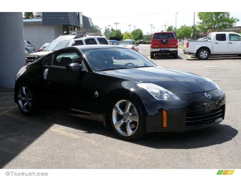 2006 magnetic black pearl nissan 350z touring coupe. Black Bedroom Furniture Sets. Home Design Ideas