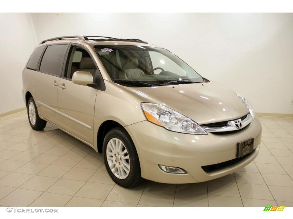 2007 sienna xle limited awd desert sand mica taupe photo 1