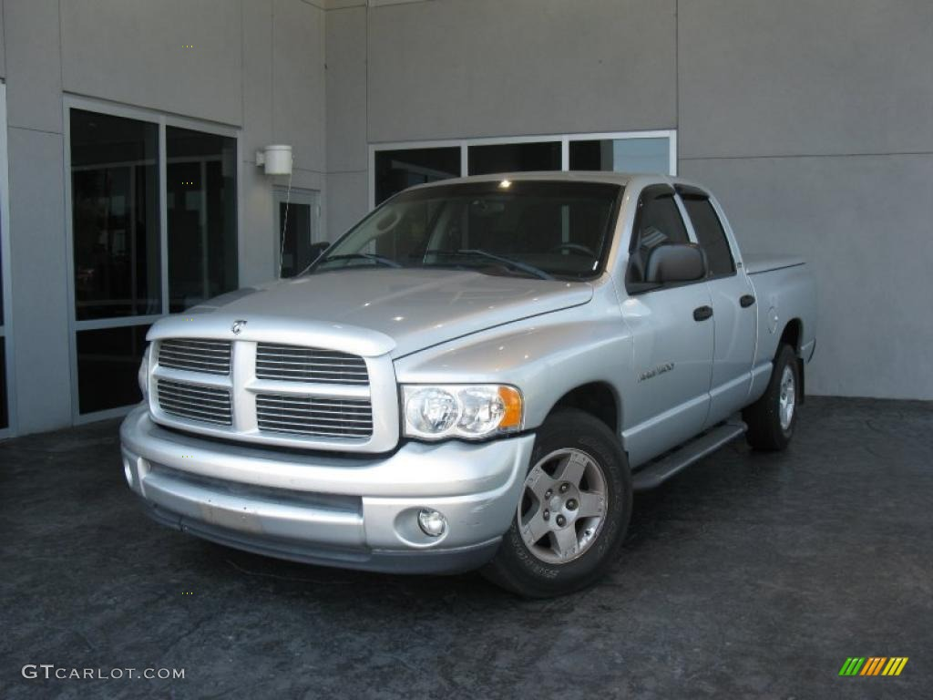 2002 Ram 1500 Sport Quad Cab - Bright Silver Metallic / Dark Slate Gray photo #1