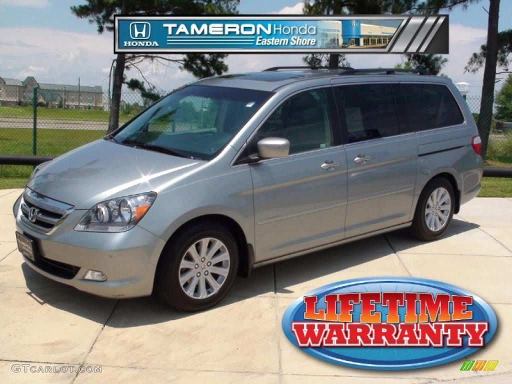 2005 odyssey touring slate green metallic olive photo 1