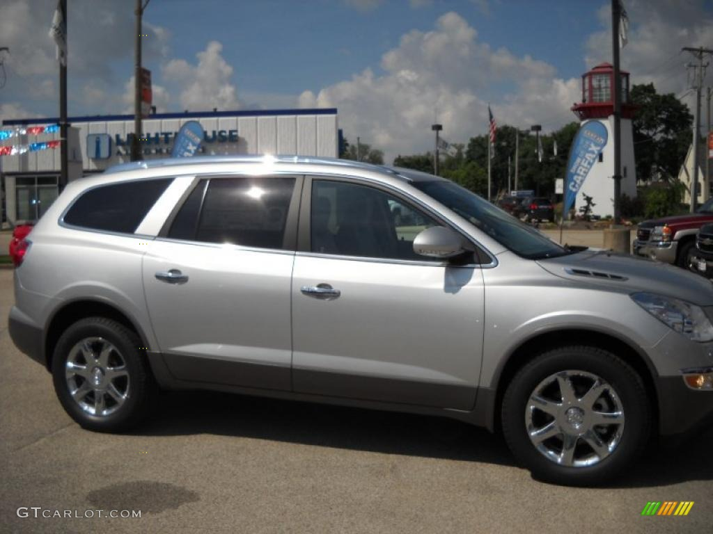 2010 Quicksilver Metallic Buick Enclave Cxl 30816805 Car Color Galleries