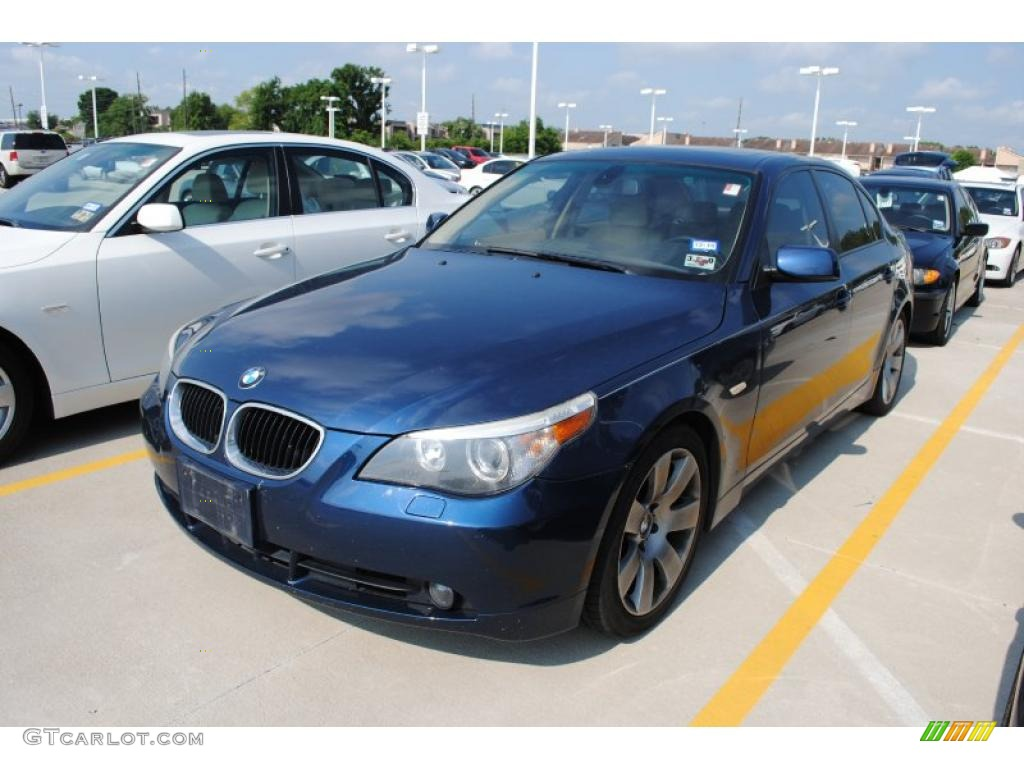 2004 mystic blue metallic bmw 5 series 530i sedan 30816562 car color galleries. Black Bedroom Furniture Sets. Home Design Ideas