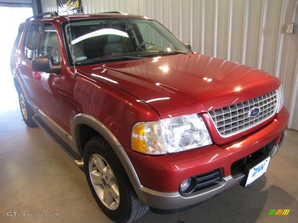 Redfire Metallic Ford Explorer