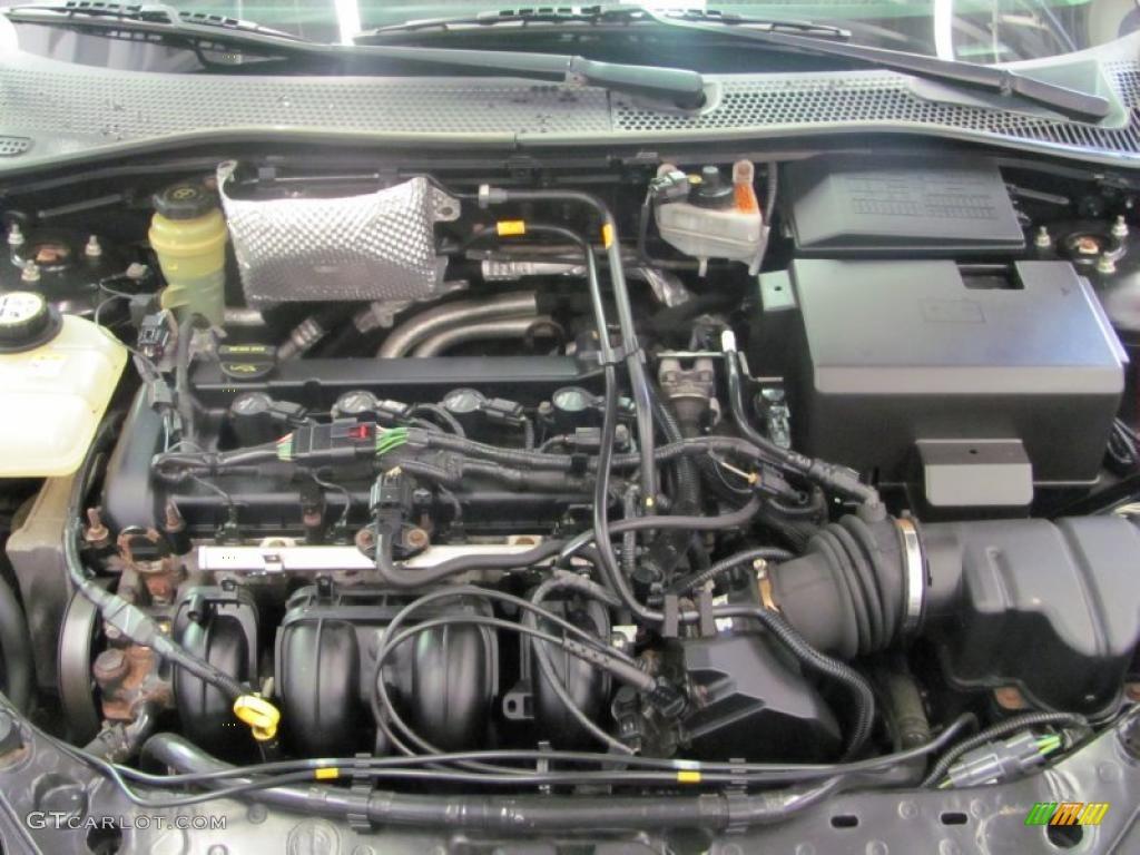 2005 Focus ZX3 SES Coupe - Pitch Black / Dark Flint/Light Flint photo #12