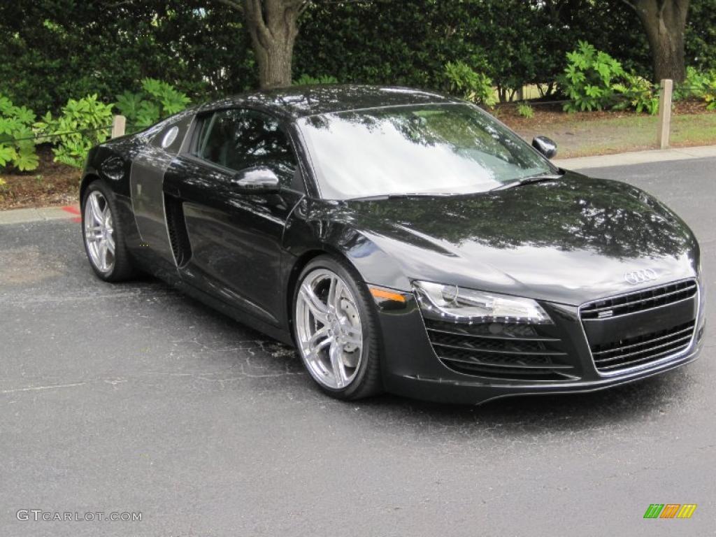 2009 Phantom Black Pearl Effect Audi R8 4 2 Fsi Quattro
