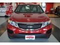2011 Spicy Red Kia Sorento LX AWD  photo #10