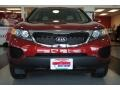 2011 Spicy Red Kia Sorento LX AWD  photo #11