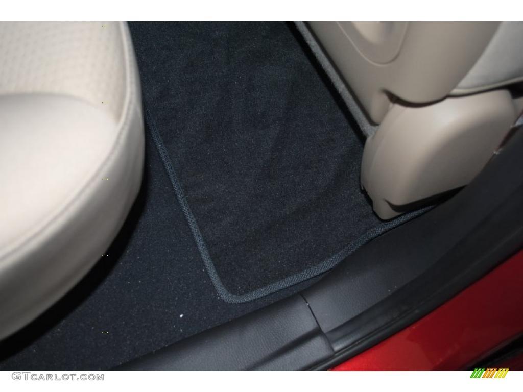 2011 Sorento LX AWD - Spicy Red / Beige photo #49
