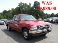 Garnet Red Pearl 1993 Toyota Pickup Deluxe Extended Cab