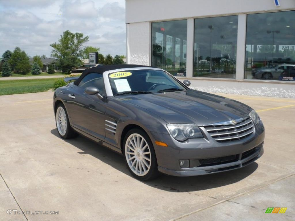 ... Graphite Metallic Chrysler Crossfire SRT-6 Roadster #30816316 Photo #6