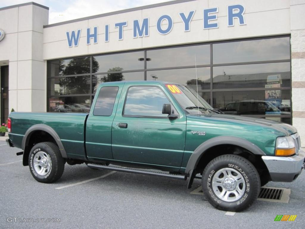 Amazon green metallic ford ranger
