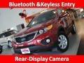2011 Spicy Red Kia Sorento LX  photo #1