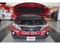 2011 Spicy Red Kia Sorento LX  photo #22