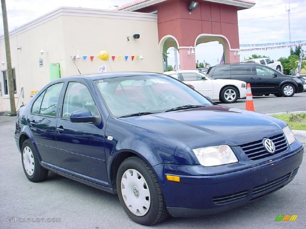 2002 indigo blue volkswagen jetta gl sedan #30894685 | gtcarlot