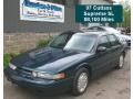 Dark Teal Metallic 1997 Oldsmobile Cutlass Supreme SL Sedan