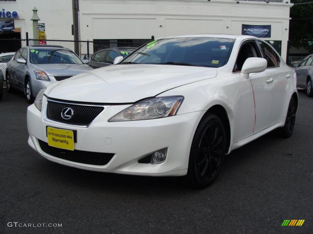 2006 crystal white lexus is 250 awd 30894946 car color galleries. Black Bedroom Furniture Sets. Home Design Ideas