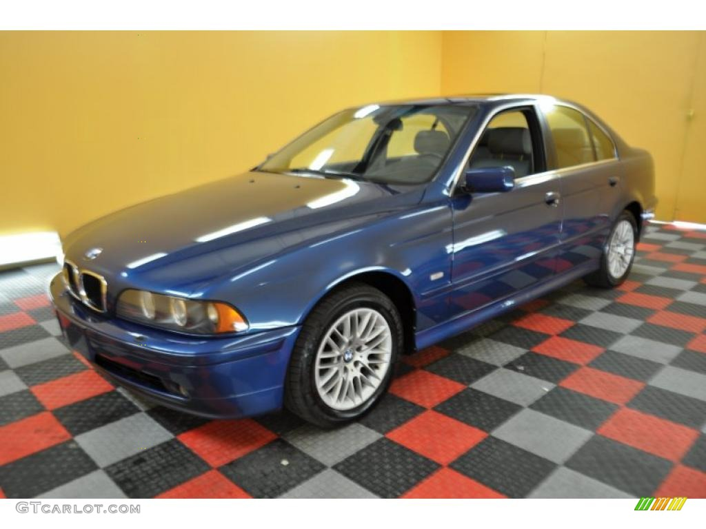 2002 topaz blue metallic bmw 5 series 530i sedan 30936041. Black Bedroom Furniture Sets. Home Design Ideas