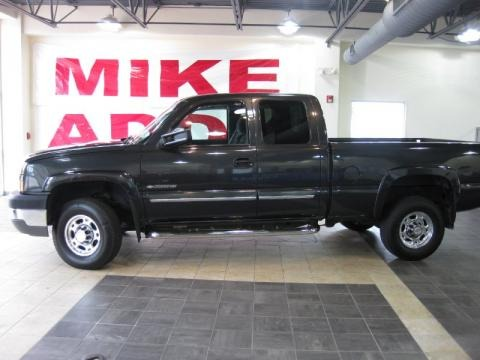 2003 chevrolet silverado 2500hd ls extended cab data info and specs. Black Bedroom Furniture Sets. Home Design Ideas