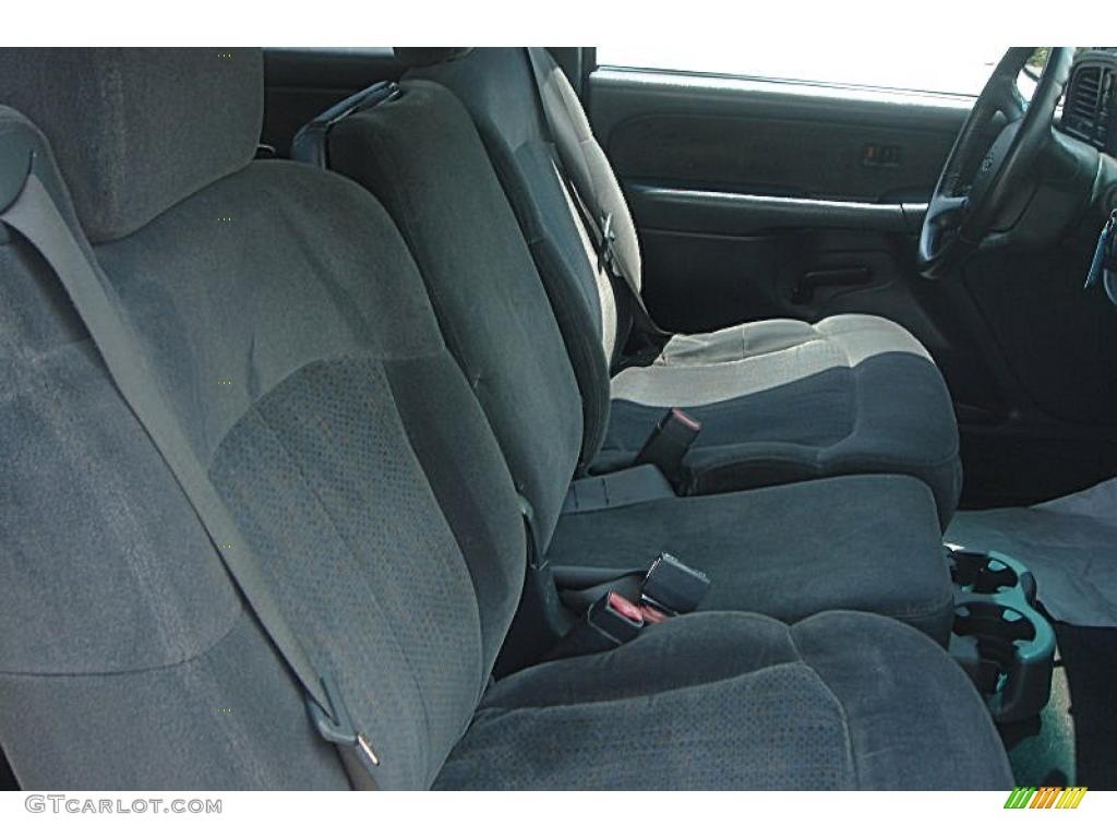 2002 Silverado 1500 LS Extended Cab 4x4 - Onyx Black / Graphite Gray photo #37