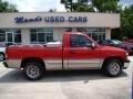 2000 Victory Red Chevrolet Silverado 1500 Regular Cab  photo #1