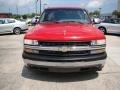 2000 Victory Red Chevrolet Silverado 1500 Regular Cab  photo #3
