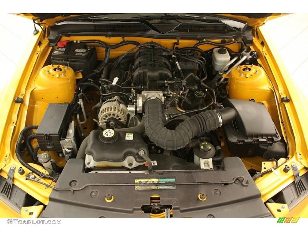 2007 Mustang V6 Premium Convertible - Grabber Orange / Dark Charcoal photo #25