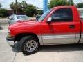 2000 Victory Red Chevrolet Silverado 1500 Regular Cab  photo #27