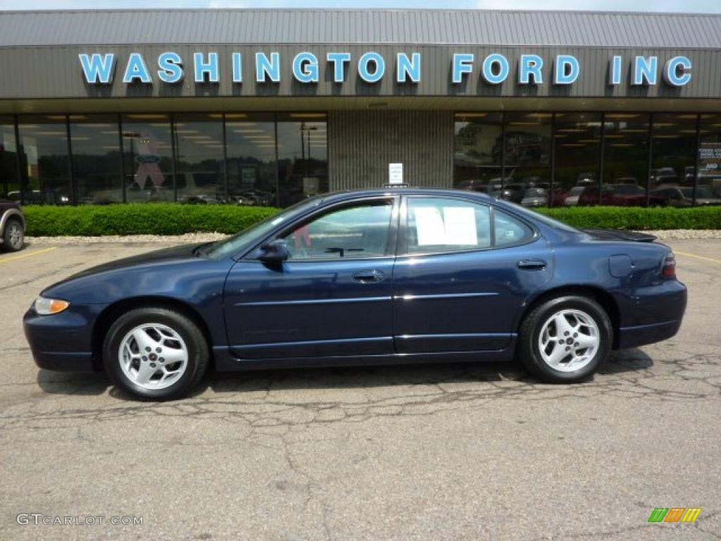 2001 navy blue metallic pontiac grand prix gt sedan 30935912 gtcarlot com car color galleries gtcarlot com