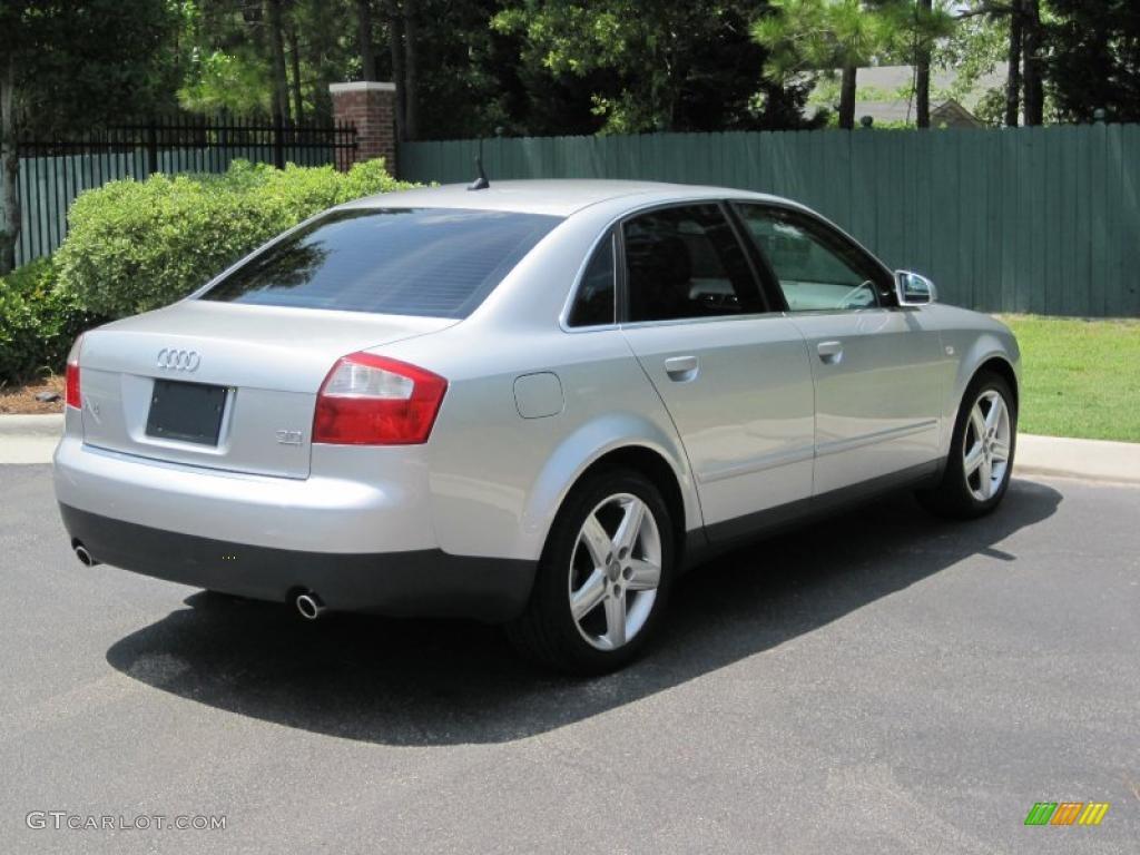 2003 light silver metallic audi a4 3 0 quattro sedan 30935582 photo 2 car. Black Bedroom Furniture Sets. Home Design Ideas